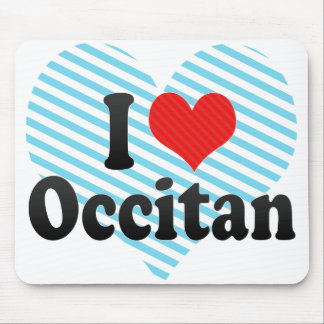 I Love Occitan Mouse Pad