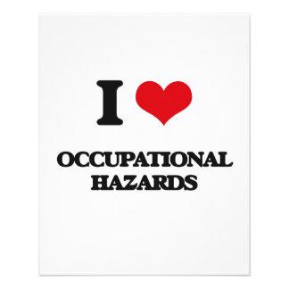 "I Love Occupational Hazards 4.5"" X 5.6"" Flyer"