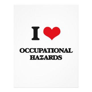 "I Love Occupational Hazards 8.5"" X 11"" Flyer"