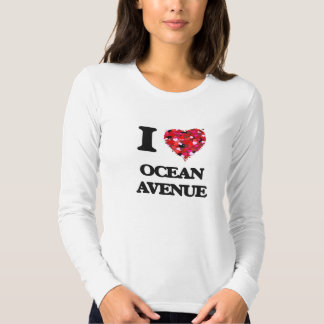 I love Ocean Avenue Massachusetts Tees