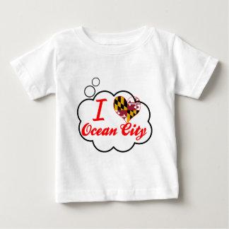 I Love Ocean City, Maryland Baby T-Shirt