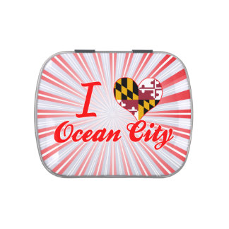 I Love Ocean City, Maryland Jelly Belly Tins