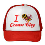 I Love Ocean City, Maryland Trucker Hat