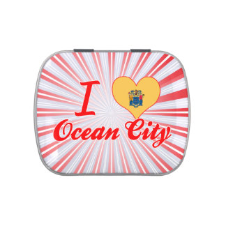 I Love Ocean City, New Jersey Candy Tin