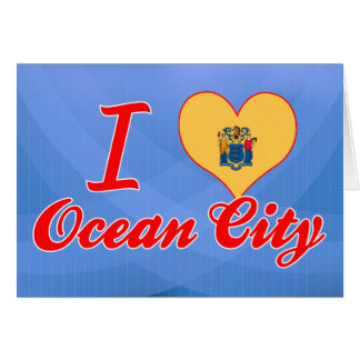 I Love Ocean City, New Jersey Greeting Card