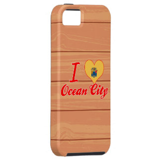 I Love Ocean City, New Jersey iPhone 5 Cover