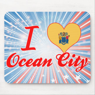I Love Ocean City, New Jersey Mouse Pad