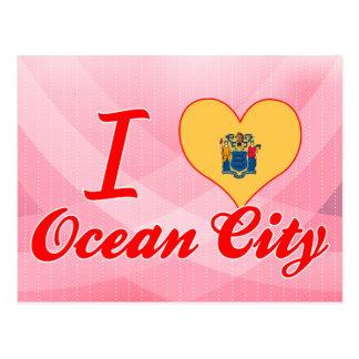 I Love Ocean City, New Jersey Postcard