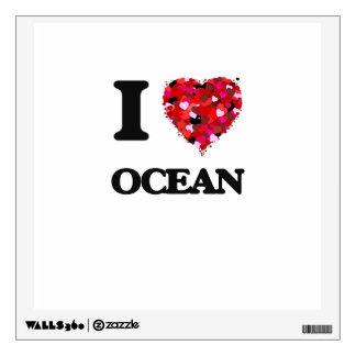 I love Ocean New Jersey Room Sticker