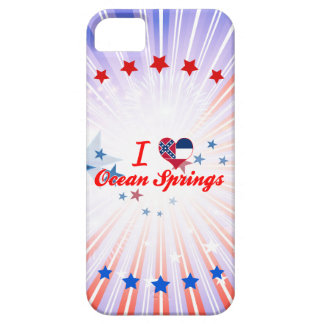 I Love Ocean Springs, Mississippi iPhone 5 Cover