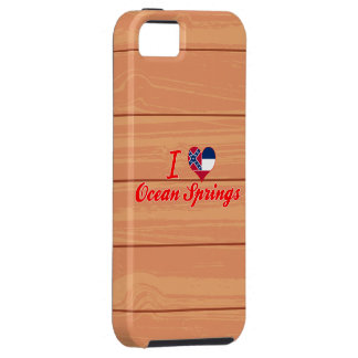 I Love Ocean Springs, Mississippi iPhone 5 Covers