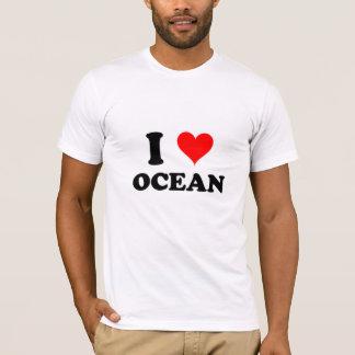 I Love Ocean T-Shirt