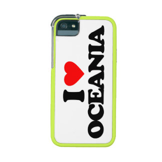 I LOVE OCEANIA iPhone 5/5S COVERS