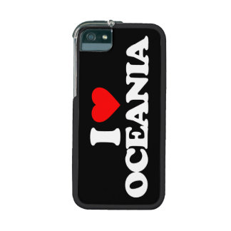 I LOVE OCEANIA iPhone 5/5S COVER