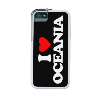 I LOVE OCEANIA COVER FOR iPhone 5