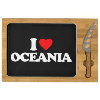 I LOVE OCEANIA CHEESE BOARD