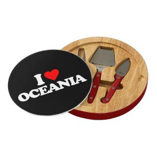 I LOVE OCEANIA CHEESE PLATTER
