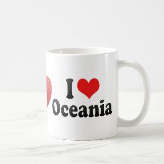 I Love Oceania Classic White Coffee Mug