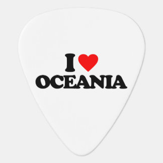 I LOVE OCEANIA GUITAR PICK