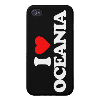 I LOVE OCEANIA iPhone 4/4S COVER