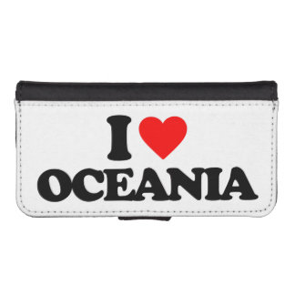I LOVE OCEANIA iPhone 5 WALLET CASES