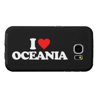 I LOVE OCEANIA SAMSUNG GALAXY S6 CASE