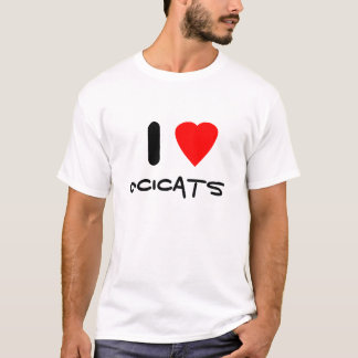 I love Ocicats T-Shirt
