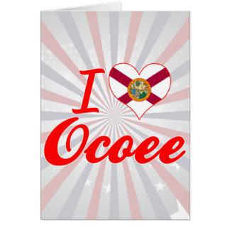 I Love Ocoee Florida Greeting Card