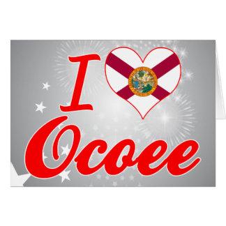 I Love Ocoee Florida Cards