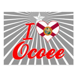 I Love Ocoee Florida Postcards