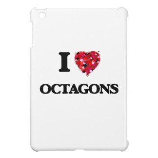 I Love Octagons iPad Mini Covers