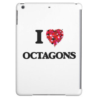 I Love Octagons iPad Air Case