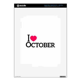 I love October Decals For iPad 3