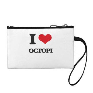 I love Octopi Coin Wallet