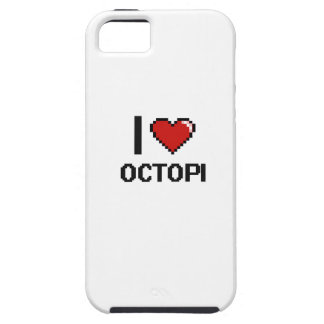 I love Octopi Digital Design iPhone 5 Case