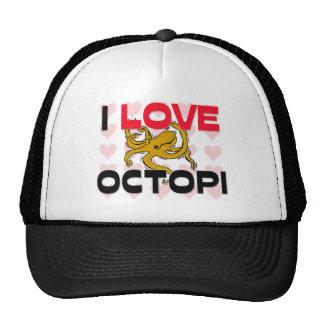 I Love Octopi Trucker Hat