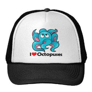 I Love Octopuses Trucker Hat