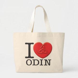 I Love Odin Canvas Bag