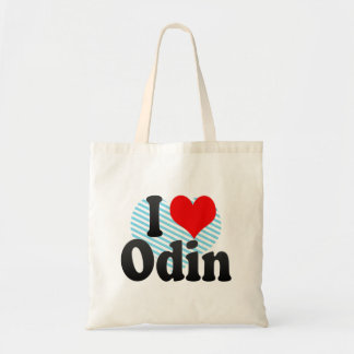 I love Odin Tote Bags