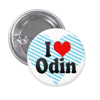 I love Odin Pinback Buttons