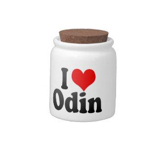 I love Odin Candy Jars