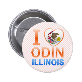 I Love Odin, IL Pins