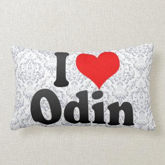 I love Odin Throw Pillow