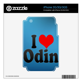 I love Odin iPhone 2G Decal