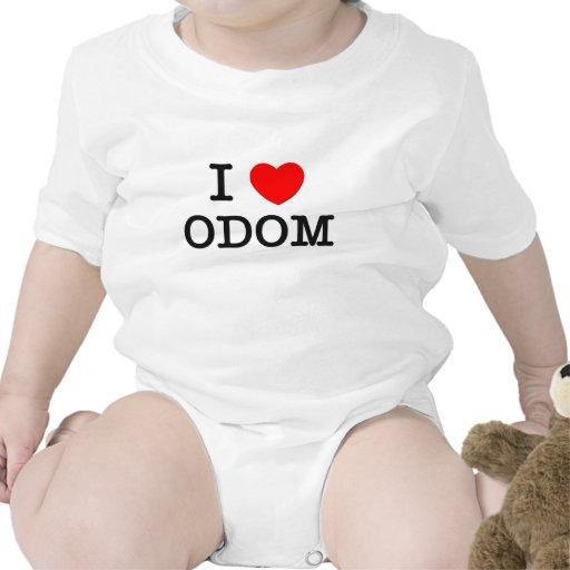I Love Odom Baby Bodysuits