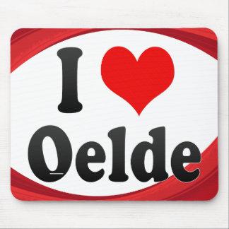 I Love Oelde Germany Ich Liebe Oelde Germany Mouse Pad