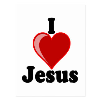 I Love of Jesus Gifts Postcard