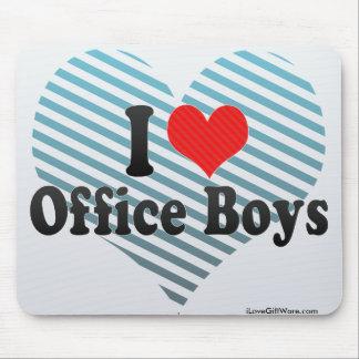 I Love Office Boys Mousepads