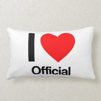 i love official throw pillow