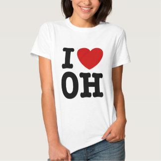 I Love OH Shirt